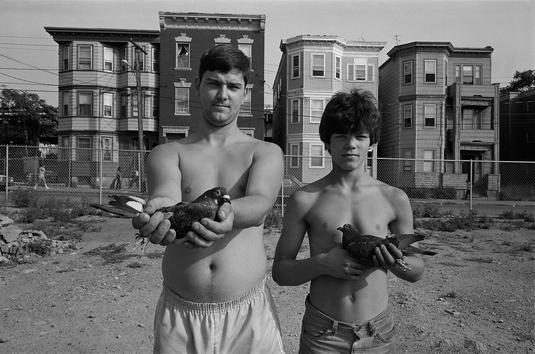 by Sage Sohier - Chelsea, MA - 1983 | 80s America documental community life portrait photos