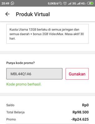 kode Promo MBL44Q1A6