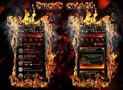 BBM Mod Droid Chat Legend of Fire v13.0.13 Apk