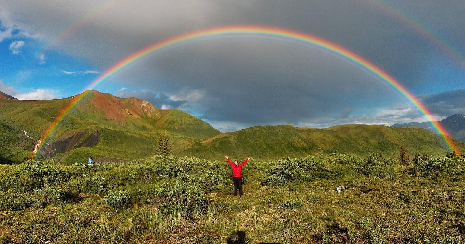 Foto Double Rainbow