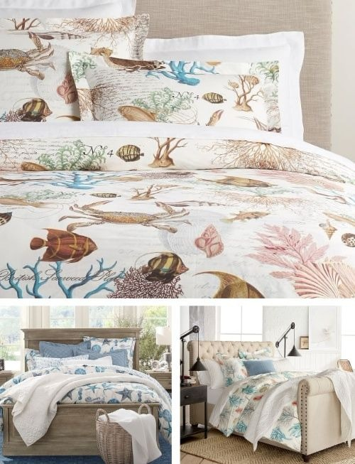 Coastal Sea Life Bedding at Pottery Barn