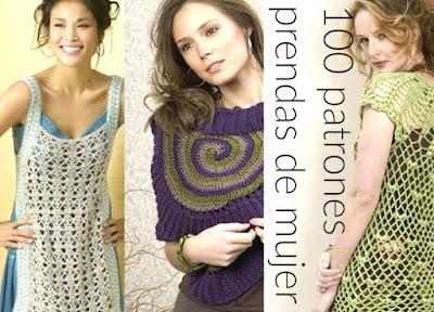 100 Patrones de crochet de prendas de mujer