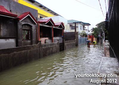 Enhanced Southwest Monsoon Flood in Pasig City, August 8, 2012
