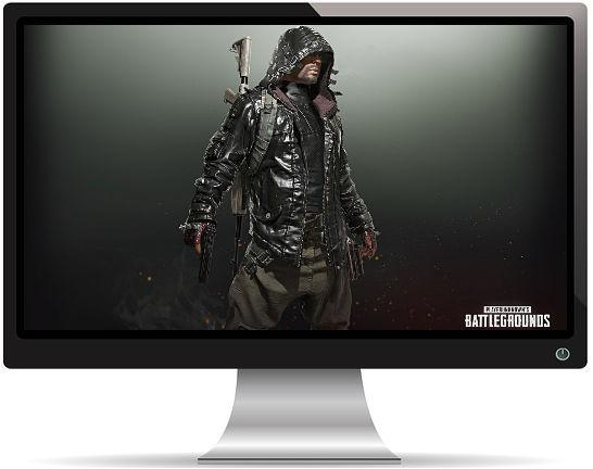 PUBG Homme Veste Cuir - Fond d'écran en Full HD 1080p