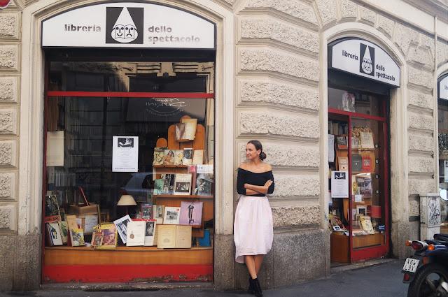 Modowa Mapa Mediolanu/Milan Fashion Map: Libreria dello specttacolo
