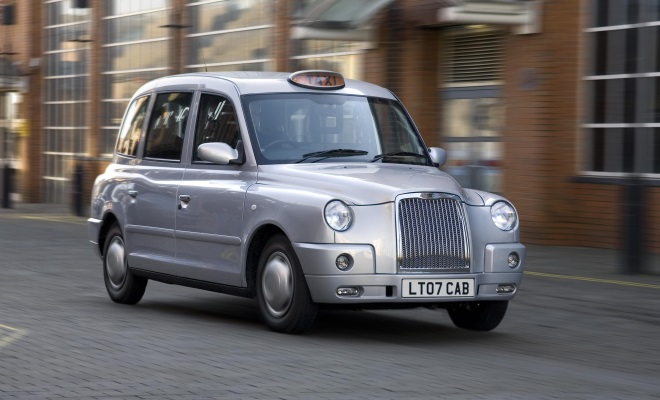 Geely's TX4 taxi