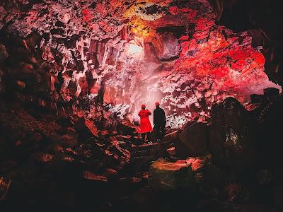 Raufarholshellir - Grottes de lave et grottes de glaces en Islande