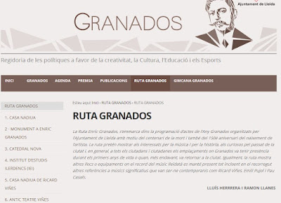 http://granados.paeria.cat/ruta-granados/ruta-granados