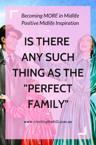 "Do you have an unreal expectation of what makes the ""perfect"" family? Is there even such a thing as a family being truly perfect? #perfect #family"