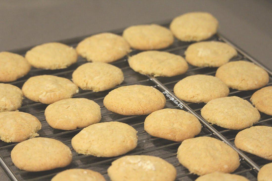 Receta para hacer deliciosas galletas de limón