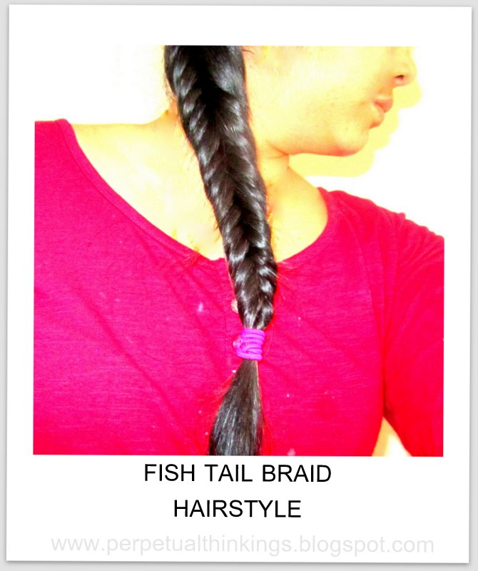 Fishtail Braid And Side Loop Ponytail For Tresemme Ramp Ready Hairstyles Momscribe
