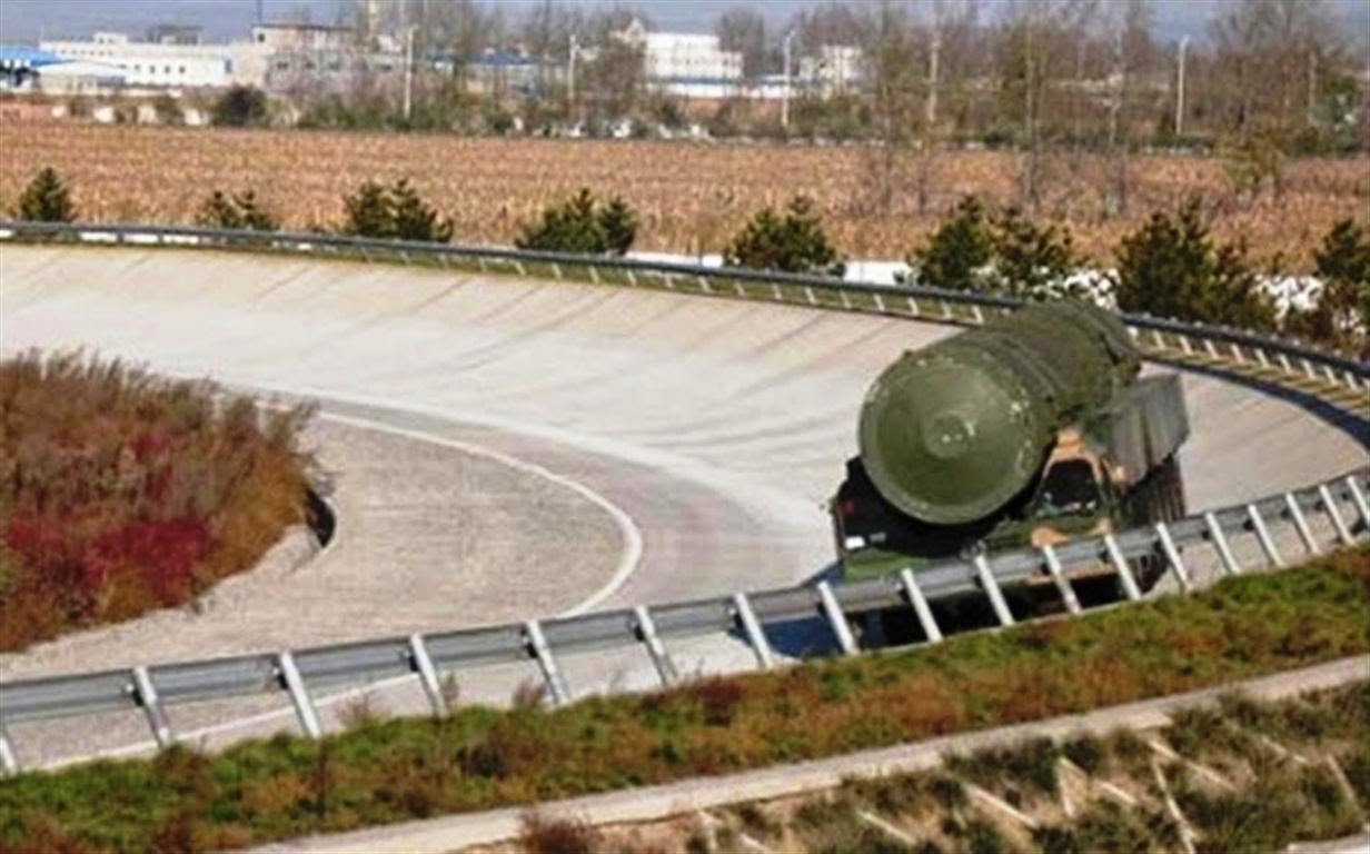 DF-41 multi-warhead intercontinental ballistic missile ...