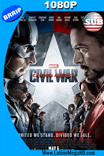 Capitán América: Civil War (2016) Subtitulado HD 1080P - 2016