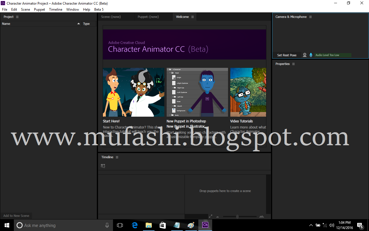 Adobe Character Animator Cc 2017 Full Cracked Patch