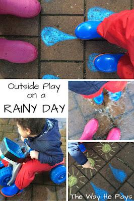 Rainy Day Pinterest Image