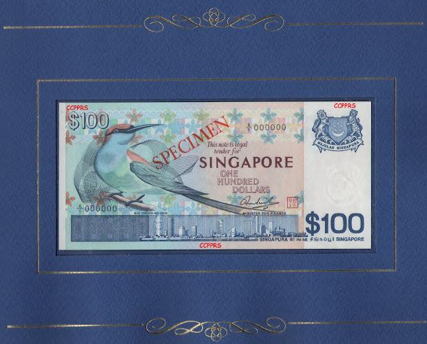 1977 Series 100 Dollar Bill Watermark - Year of Clean Water