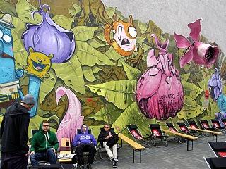 contoh seni grafiti yang indah