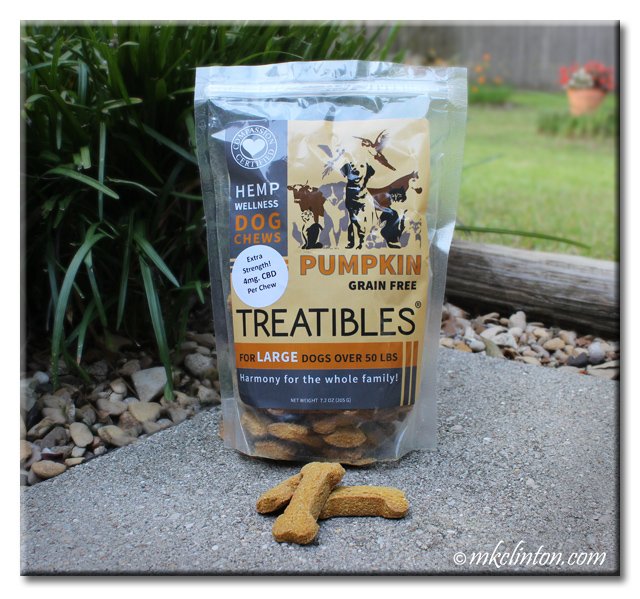 Treatibles Hemp Wellness Pumpkin Grain Free Dog Chews