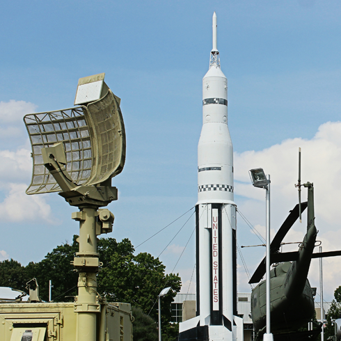 US Space Rocket Center Huntsville Alabama