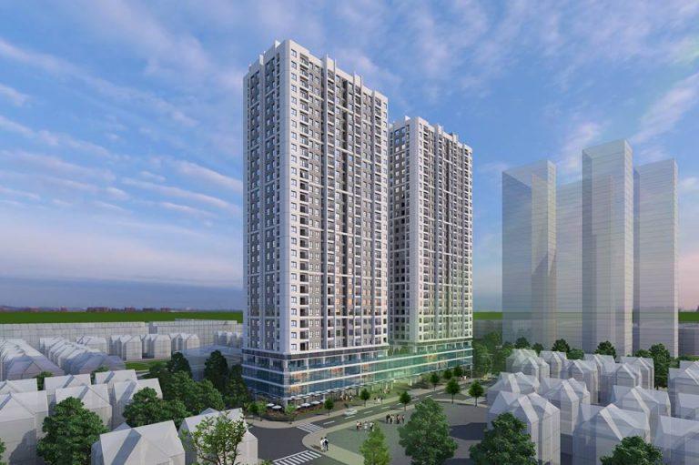 Phối cảnh tổng quan dự án ICID Complex - Lê Trọng Tấn