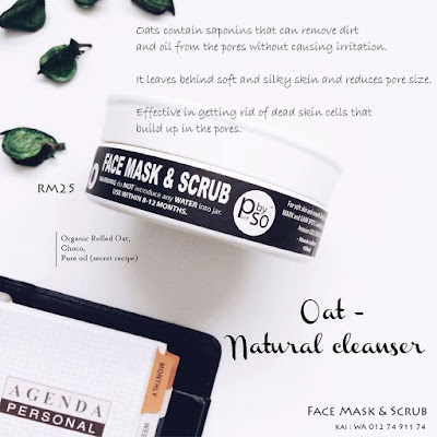 face mask and scrub purebysafiyyahosman
