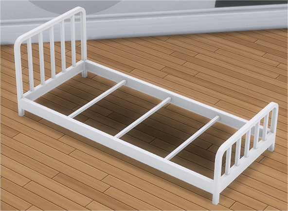 My Sims 4 Blog Metal Bed Frame And Mattress For Toddlers