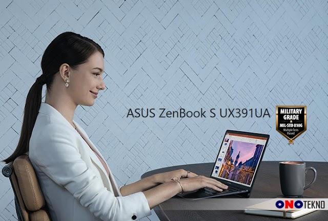 """ASUS ZENBOOK S UX391UA """" Laptop Keren Dengan New Design Plus Military Grade """""""