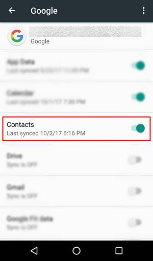How to delete read only contacts on android pcnexus after the sync the read only contact will be deleted ccuart Gallery