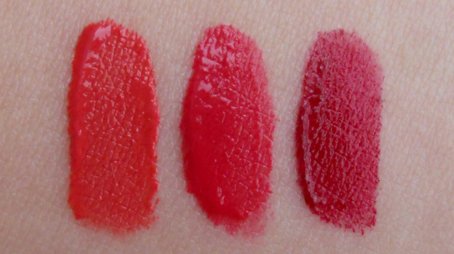 Bourjois rouge edition velvet lipstick swatches
