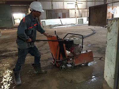 khoan cắt bê tông tại phường Bến Nghé