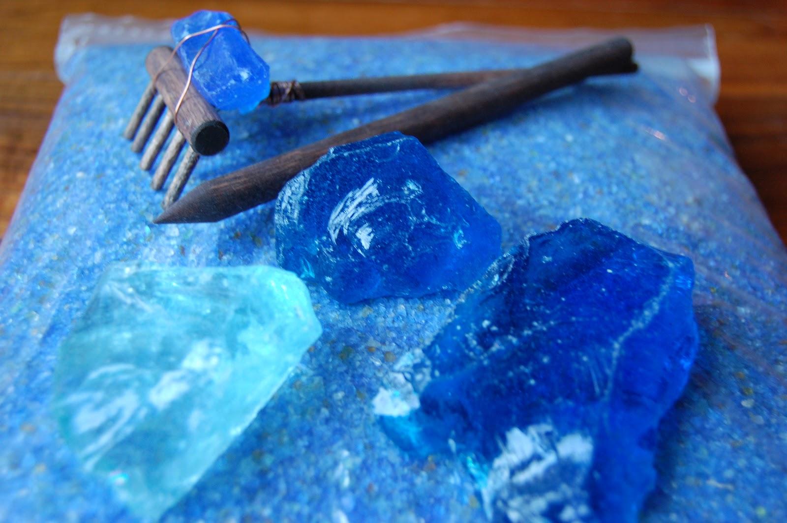 Zen Garden Glass Mulch, Glass Sand And Waves