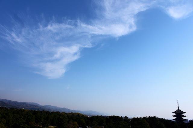 sky over Nara