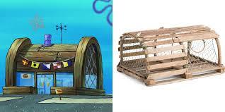 Wujud Asli Bangunan-bangunan di Spongebob. The Zhemwel