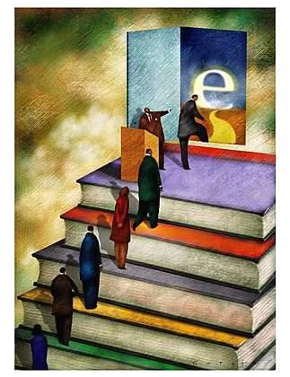 Technology Vs Books By Jhantu Randall