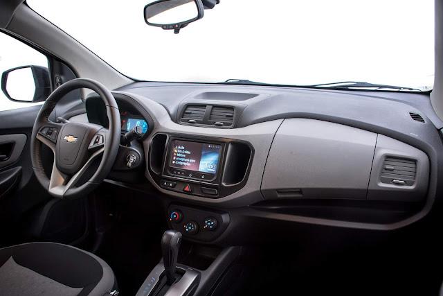 Novo Chevrolet Spin 2017 - Sistema MyLink2
