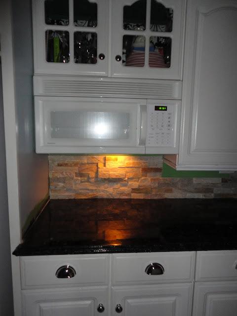 General Splendour Kitchen Backsplash Stencil Or Stone