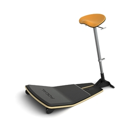 Safco Focal Locus Standing Height Seat with Anti Fatigue Mat