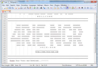 Notepad++ 7.4.0 Final Terbaru Gratis