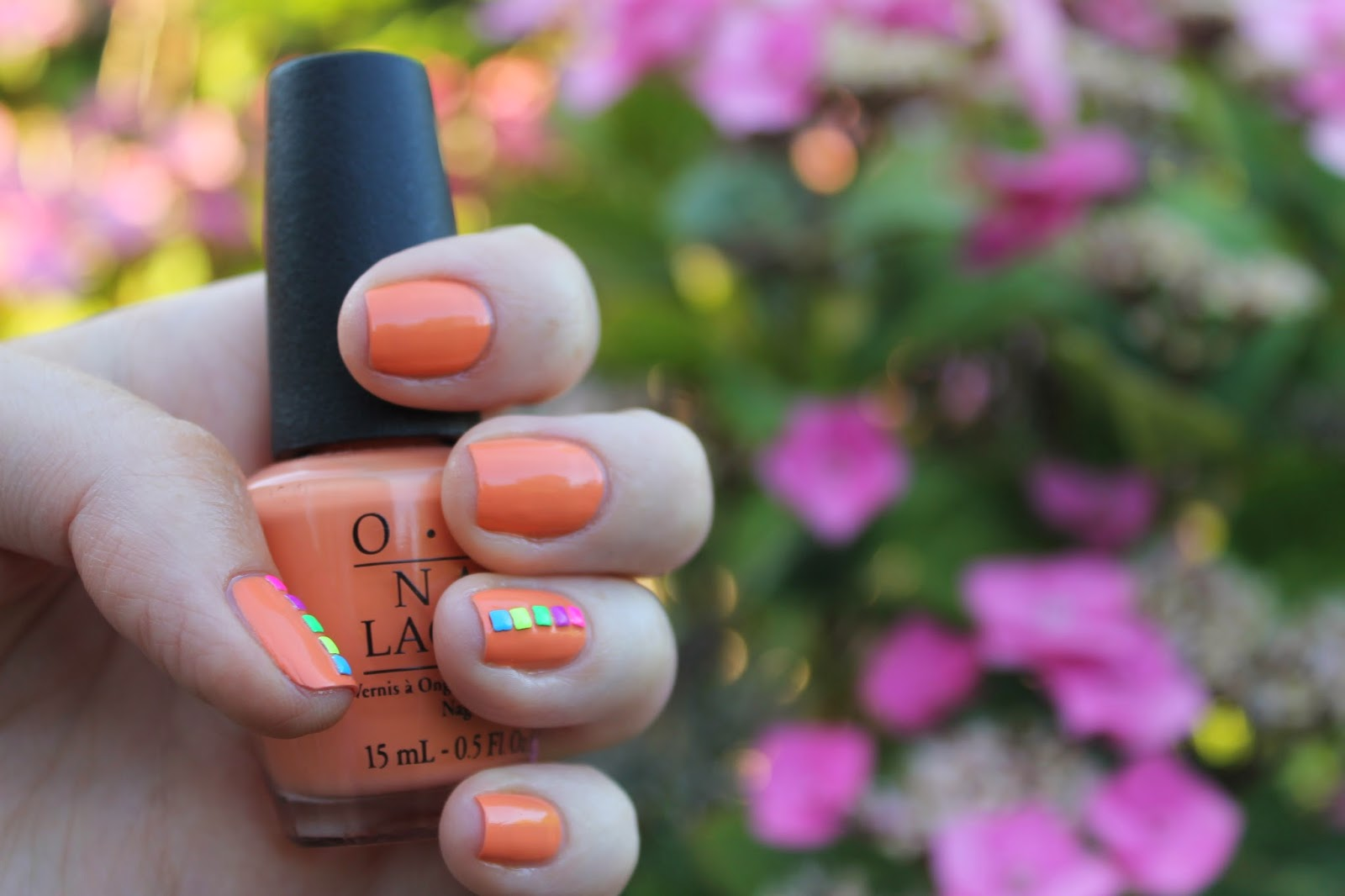 NailsByNumbers: NOTD! OPI's Where did Suzi's Mango and Hand