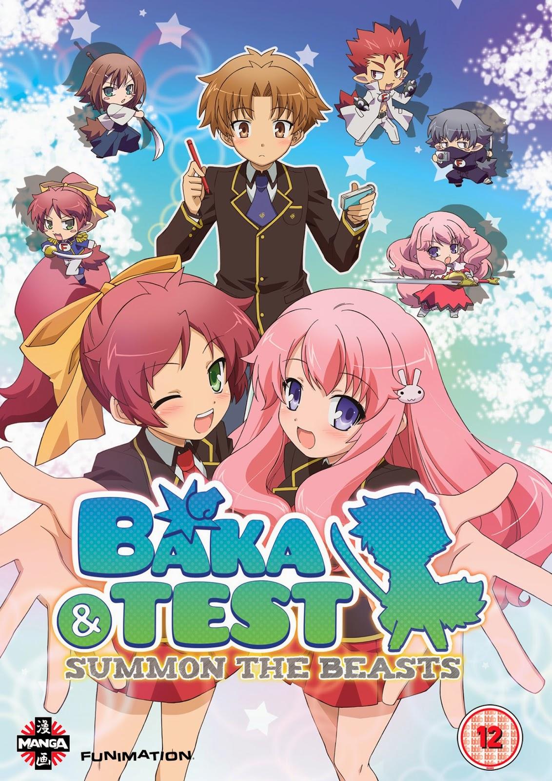Baka No Test baka and test: summon the beasts author launches new manga