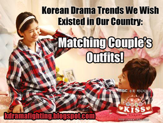 Kdrama Trends We Wish Existed In America: Matching Couple's