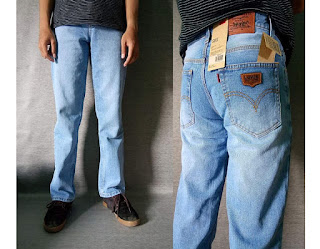 celana jeans pria, celana jeans standar, celana jeans basic