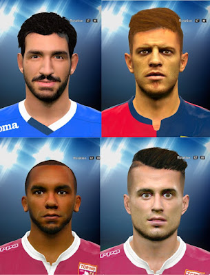 PES 2016 Serie A facepack 2 by prince hamiz