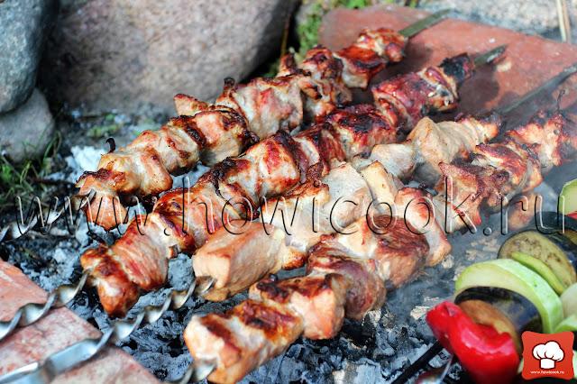 рецепт кавказского шашлыка с пошаговыми фото