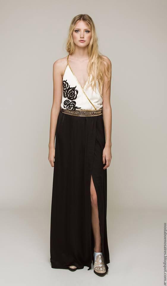Moda primavera verano 2017 ropa de mujer verano 2017.