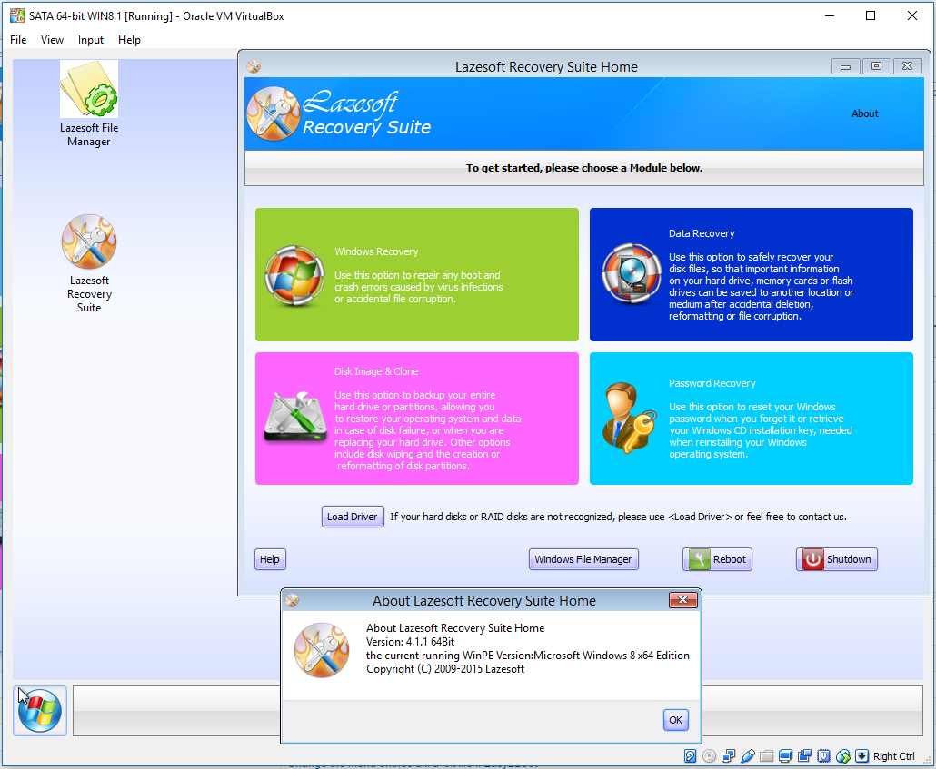 lazesoft recovery suite home edition iso download