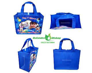 tas ultah murah, tas souvenir ultah, tas ulang tahun anak, souvenir ultah minnie mouse.