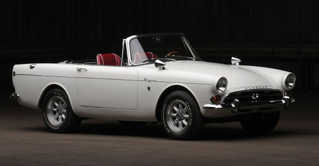 Sunbeam Tiger 1960s British classic sports car