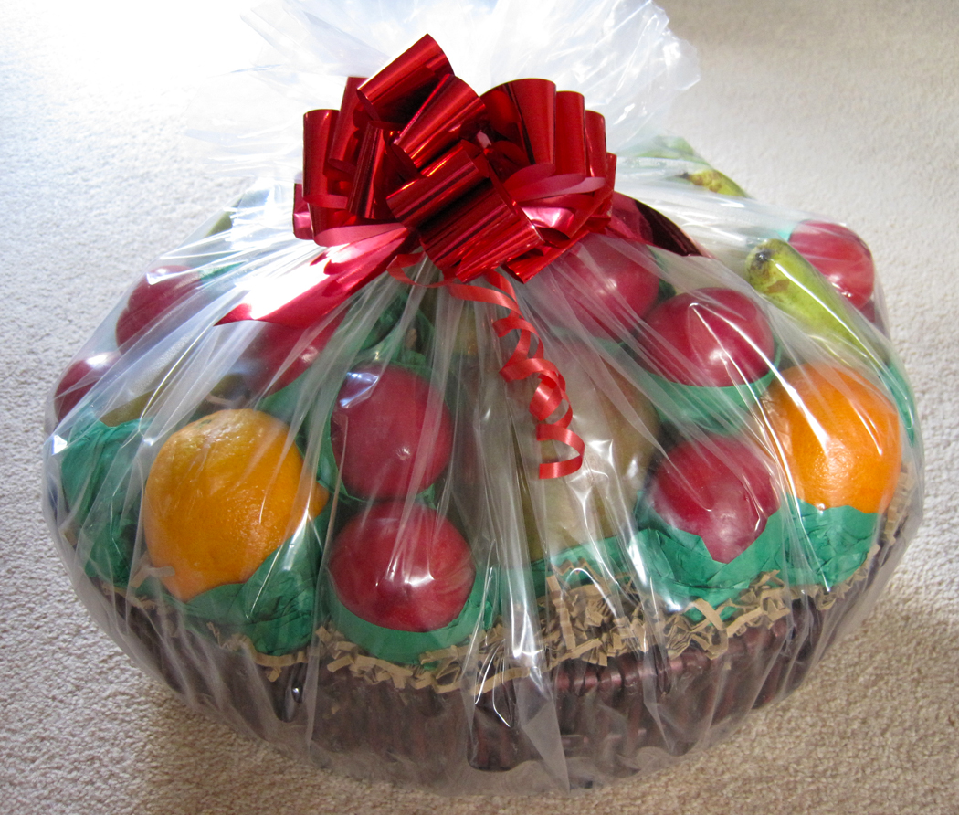 fruit gift basket from first4hampers review a glug of oil