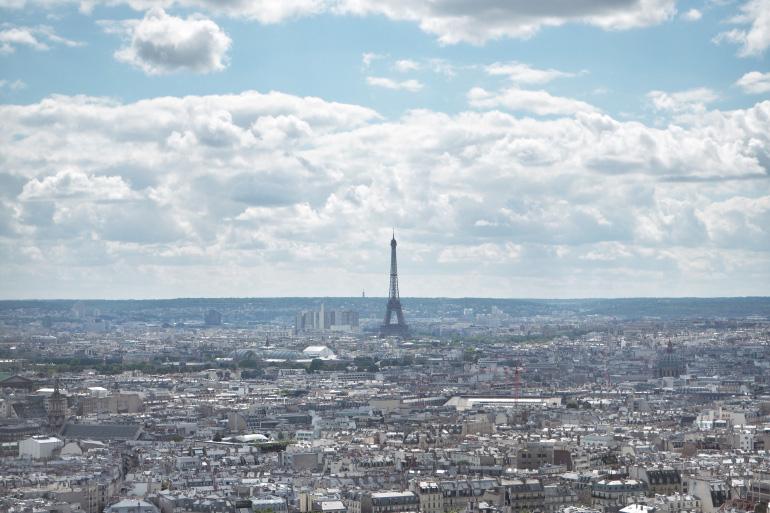 Vue sur Paris - Tour Eiffel
